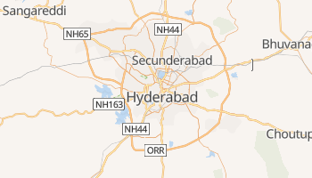 Mapa online de Hyderabad