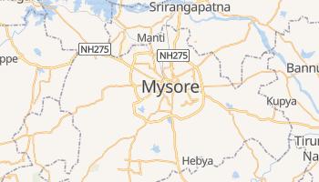 Mapa online de Mysore