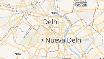Mapa online de Nueva Delhi