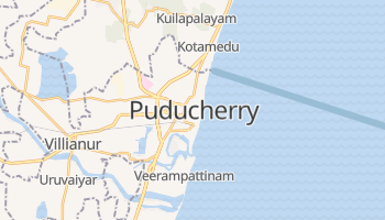 Mapa online de Pondicherry