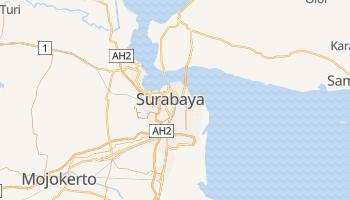 Mapa online de Surabaya