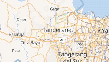 Mapa online de Tangerang
