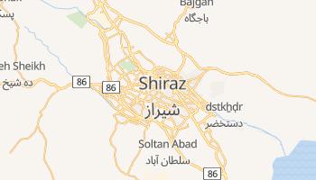 Mapa online de Shiraz