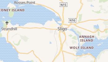 Mapa online de Sligo