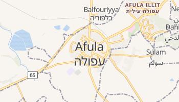 Mapa online de Afula