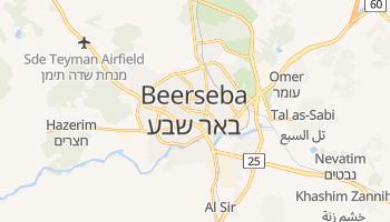 Mapa online de Be'er Sheva