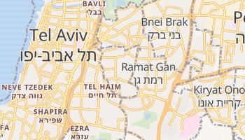 Mapa online de Guivatayim