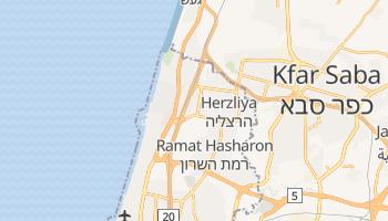 Mapa online de Herzliya