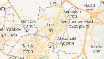 Mapa online de Lod