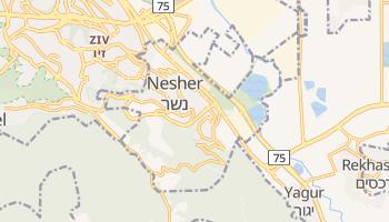 Mapa online de Nesher