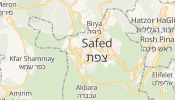 Mapa online de Safed