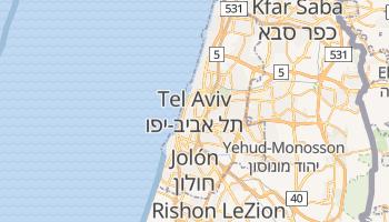 Mapa online de Tel Aviv