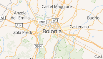Mapa online de Bolonia