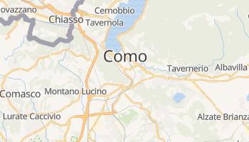 Mapa online de Como