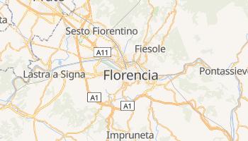 Mapa online de Florencia