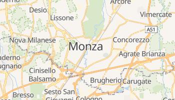 Mapa online de Monza