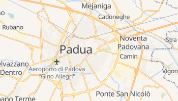 Mapa online de Padua