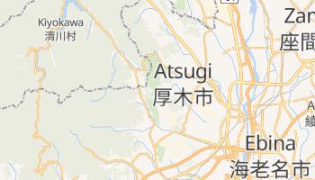 Mapa online de Atsugi