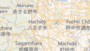 Mapa online de Hachiōji