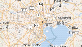 Mapa online de Tokio