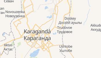 Mapa online de Karaganda