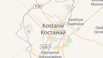 Mapa online de Kostanay