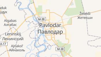 Mapa online de Pavlodar