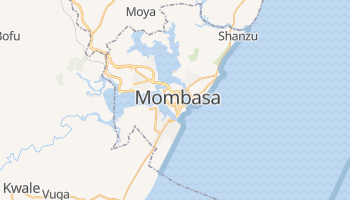 Mapa online de Mombasa