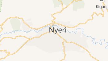 Mapa online de Nyeri