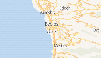 Mapa online de Biblos