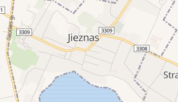 Mapa online de Jieznas