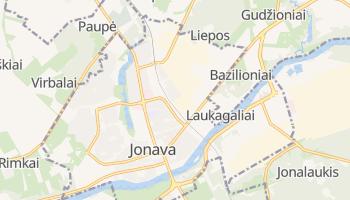 Mapa online de Jonava