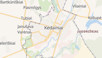 Mapa online de Kėdainiai