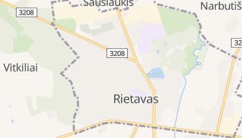 Mapa online de Rietavas