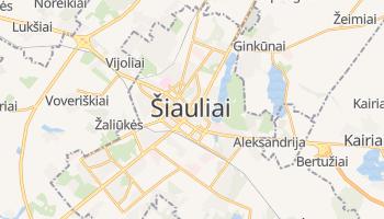 Mapa online de Šiauliai