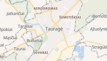 Mapa online de Tauragė