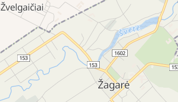 Mapa online de Žagarė