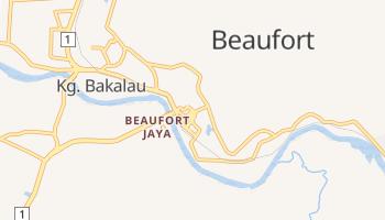 Mapa online de Beaufort