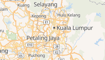 Mapa online de Kuala Lumpur
