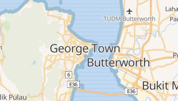 Mapa online de Penang