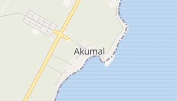 Mapa online de Akumal