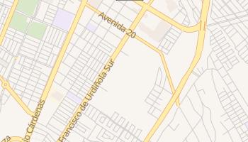 Mapa online de Arizpe