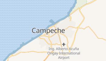 Mapa online de Campeche