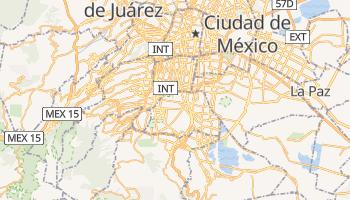 Mapa online de Coyoacán