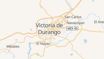 Mapa online de Durango