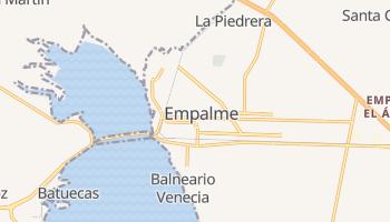 Mapa online de Empalme