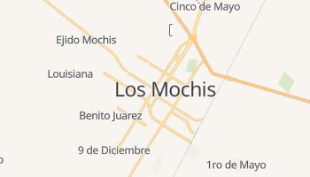 Mapa online de Los Mochis