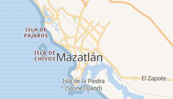 Mapa online de Mazatlán