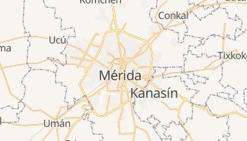 Mapa online de Mérida