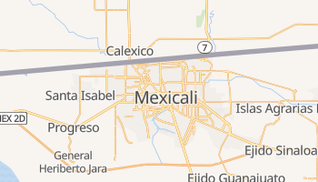 Mapa online de Mexicali